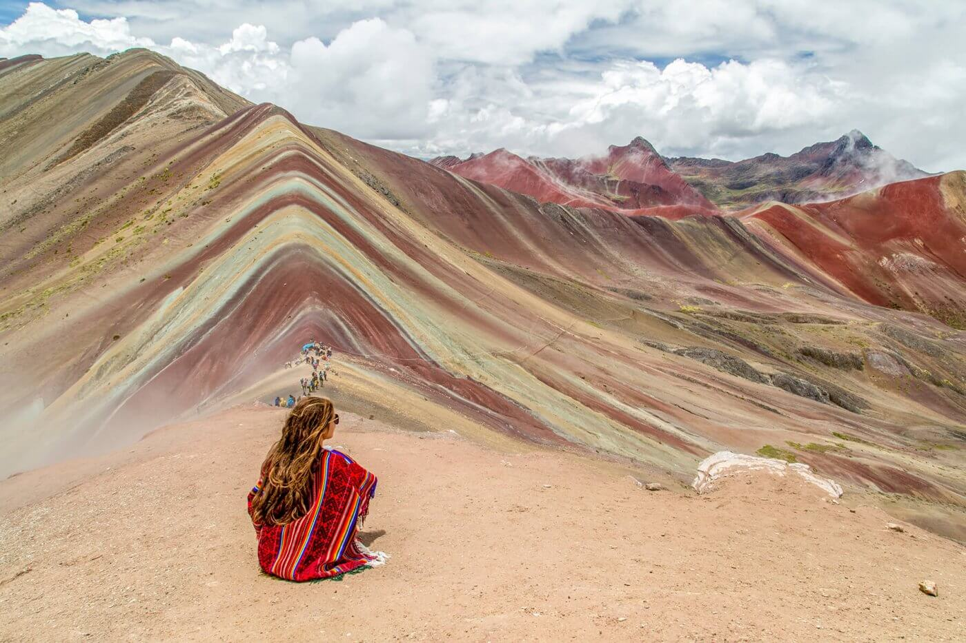 Rainbow Mountain is een opkomende bezienswaardigheid in Peru
