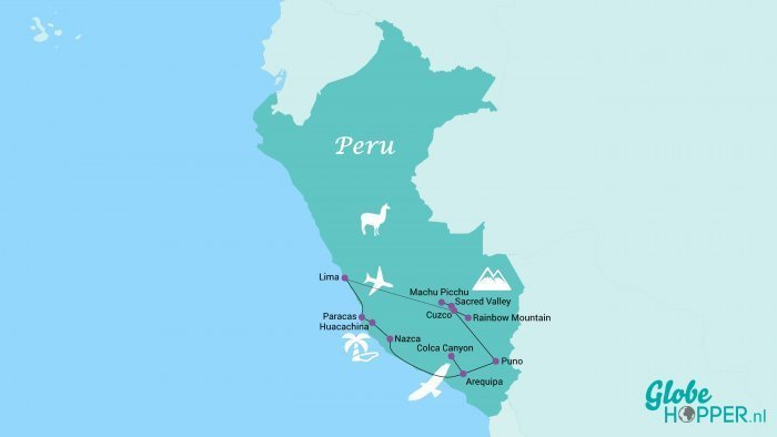 Rondreis Peru 3 weken
