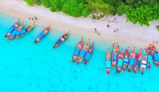 Mooiste eilanden in Thailand