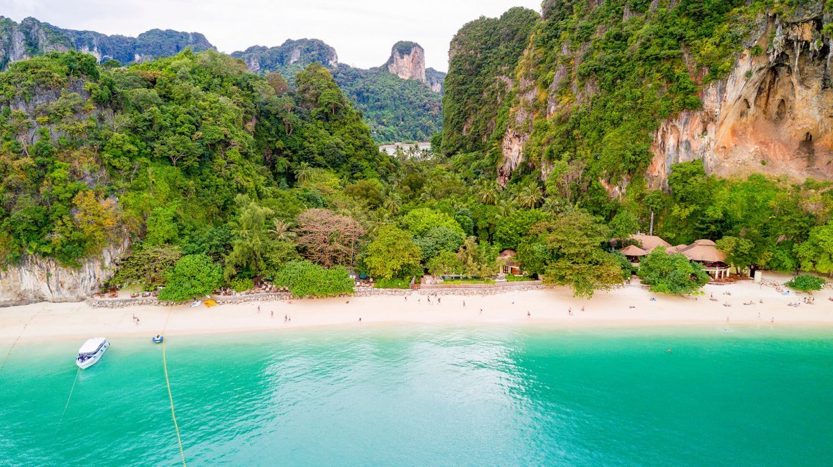 Railay Beach in Krabi - Thailand
