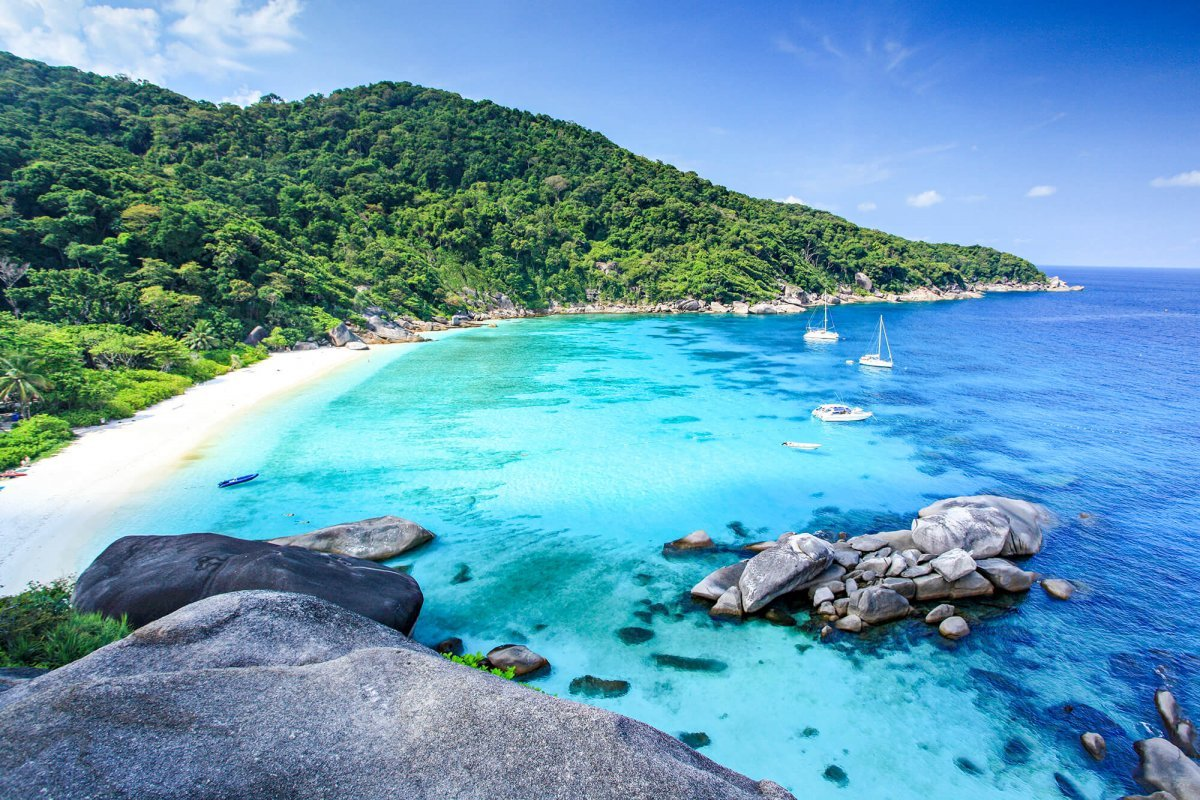 Similan Islands, Andaman Sea in Thailand