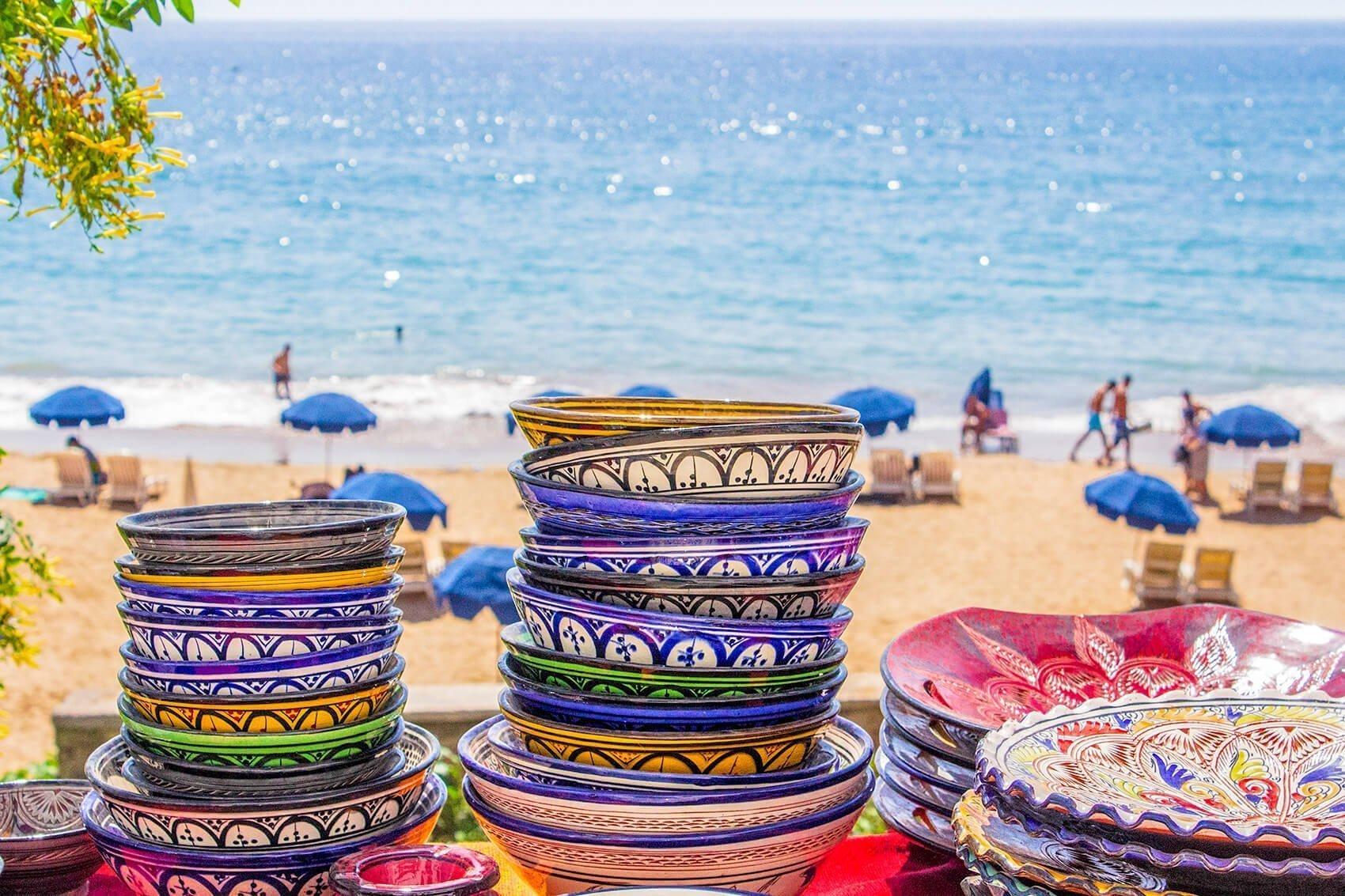 Klimaat Taghazout beste reistijd om te surfen in Marokko