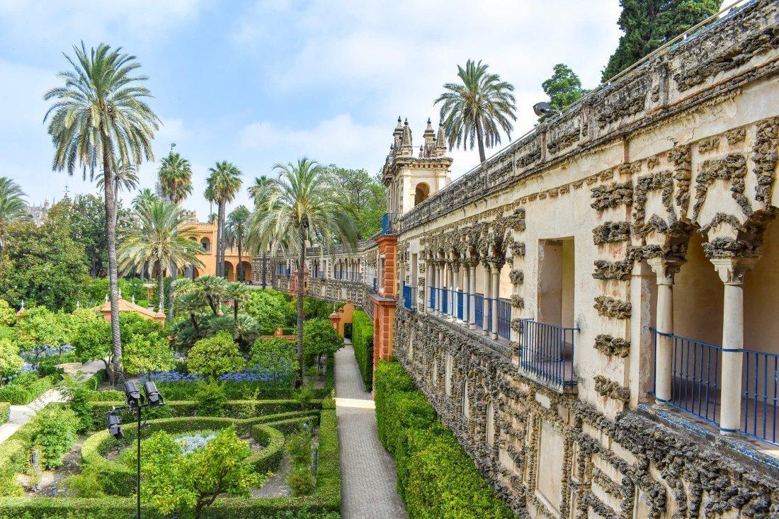 #11 Koninklijk paleis van Dorne Real Alcázar paleis, Sevilla, Spanje
