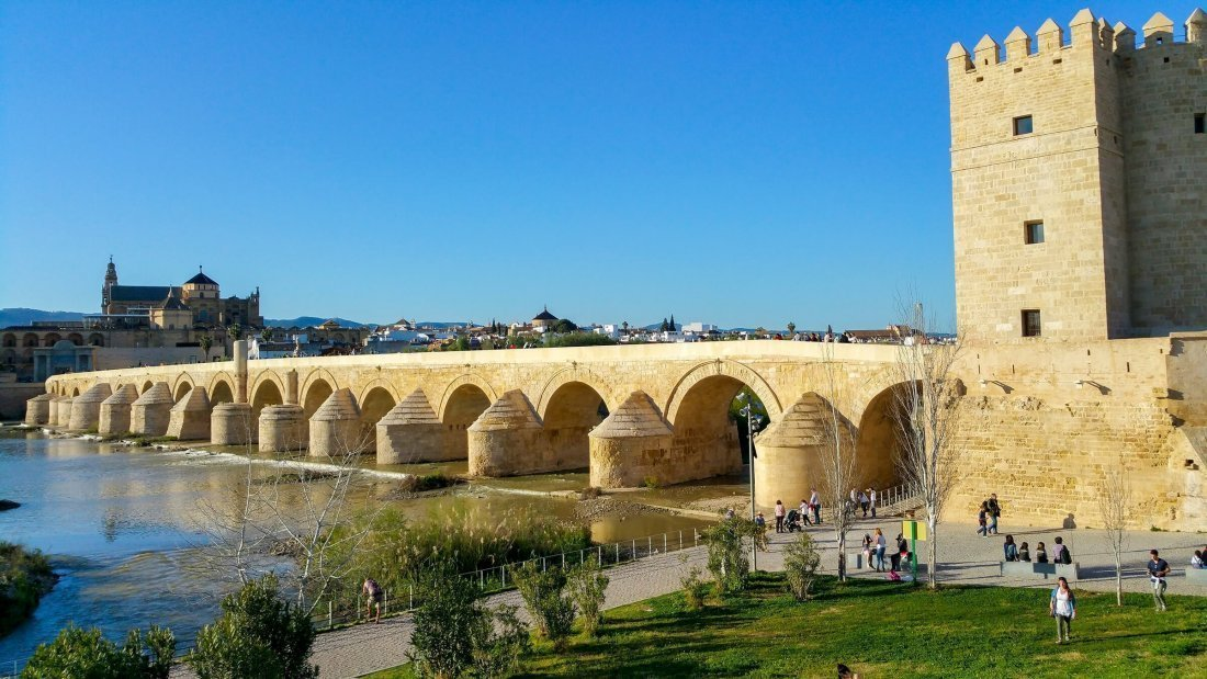#14 De Romeinse Brug in Cordoba, Spanje Long Bridge Of Volantis
