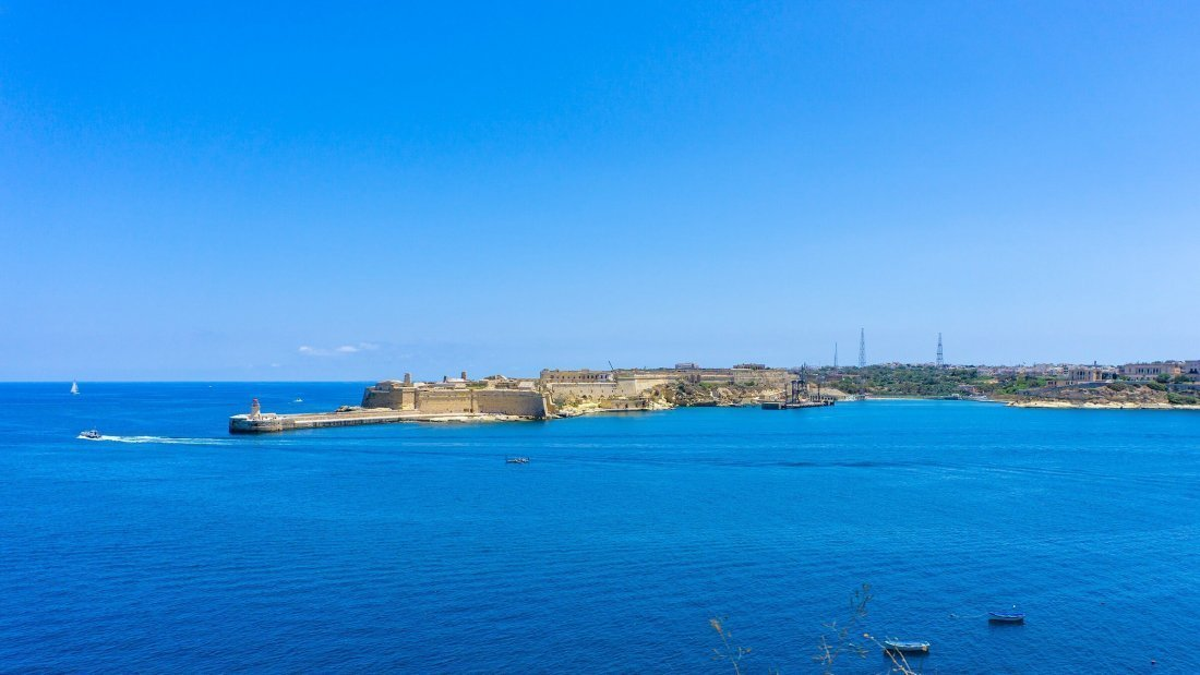 #3 The Red Keep Fort Ricasoli op Malta