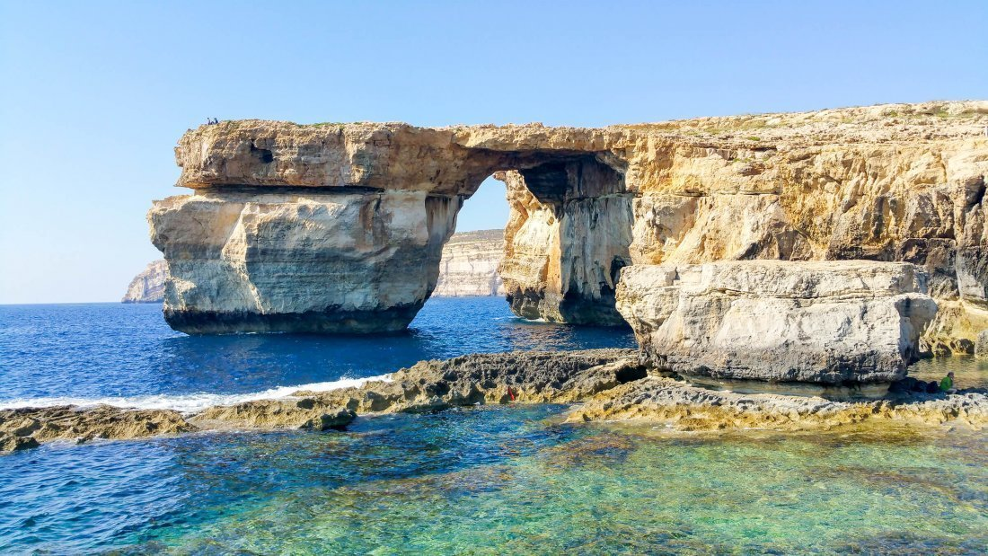 #4 Daenery's en Dragos bruiloft Azure Window het Blauwe Raam op Malta