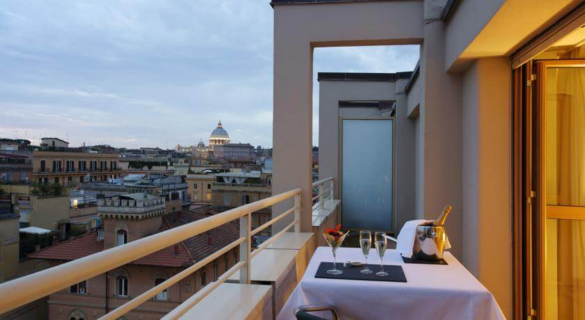 Stedentrip 3 dagen Rome in NH Collection Roma Giustiniano – Italië - Verblijf in een viersterrenhotel in hartje Rome
