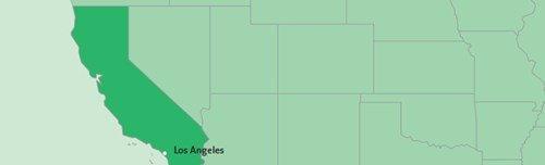 15-daagse familie camperreis door Amerika vanuit Los Angeles locatie