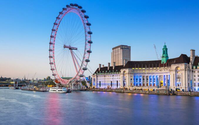 Stedentrip 3 dagen Londen Hotel Point A Canary Wharf