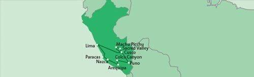 15-daagse privé rondreis door Peru route