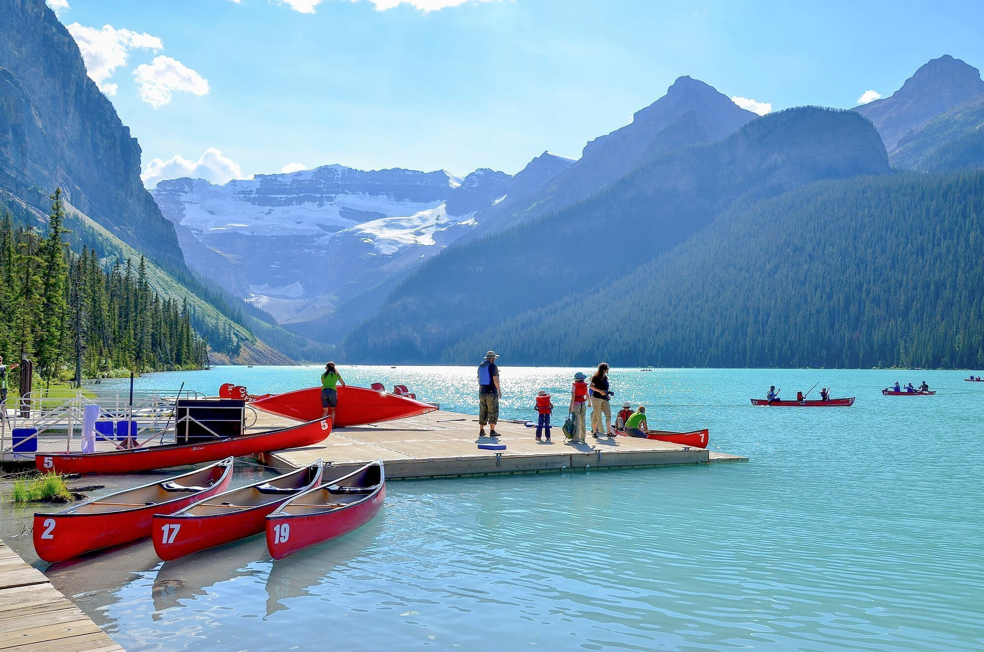 West-Canada Lake Louise in Alberta