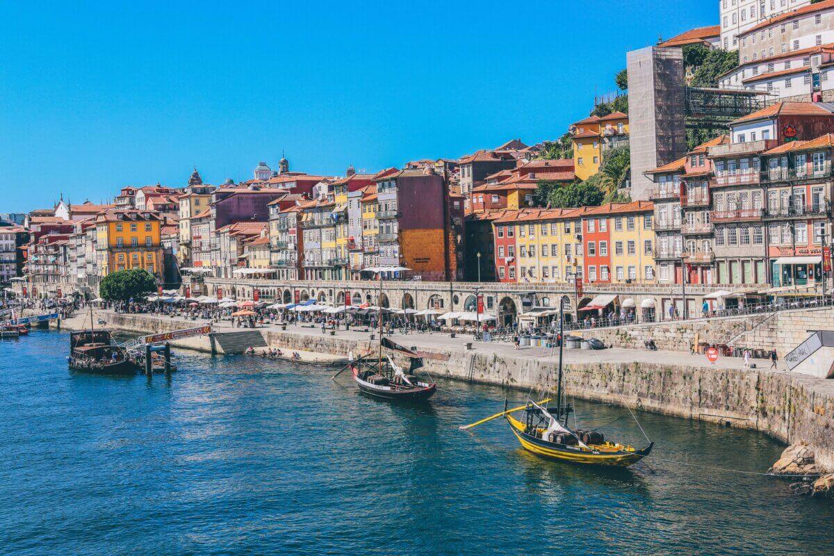 Stedentrip in Europa naar Porto - Portugal