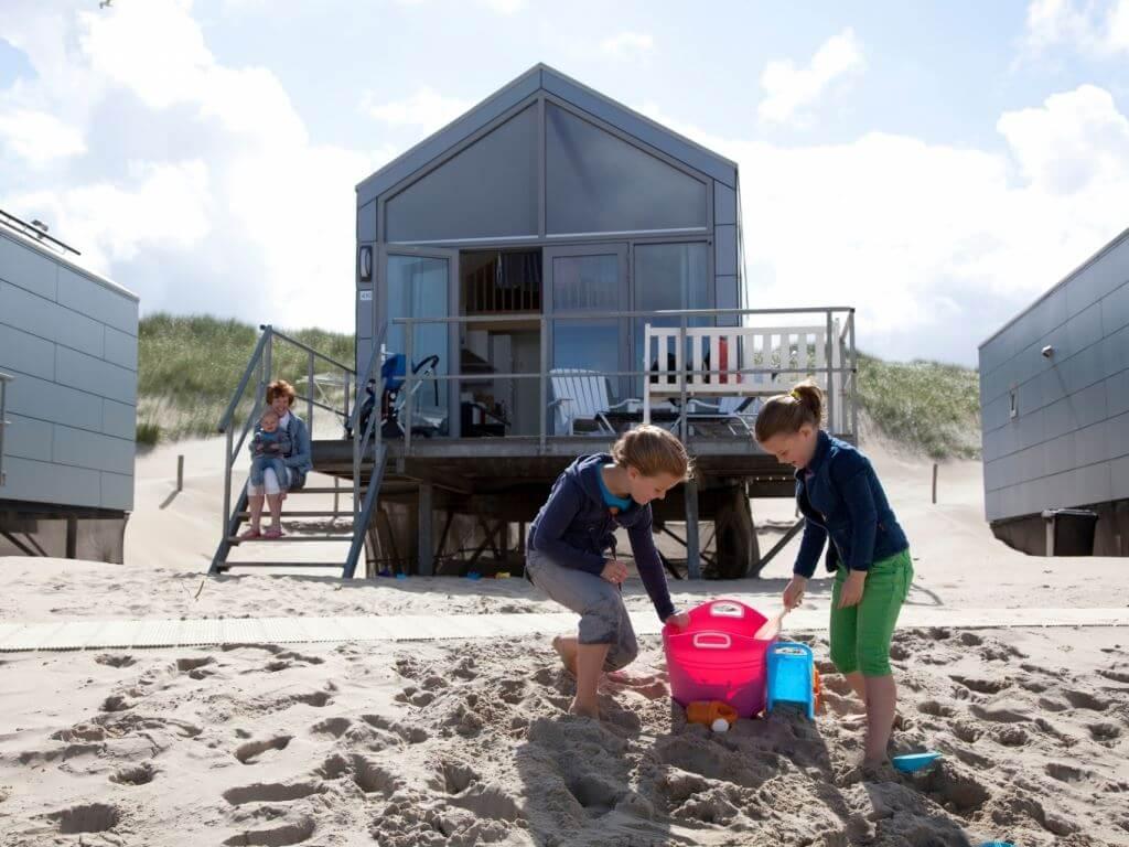 Strandhuisjes Julianadorp aan Zee Vakantiepark Nederland