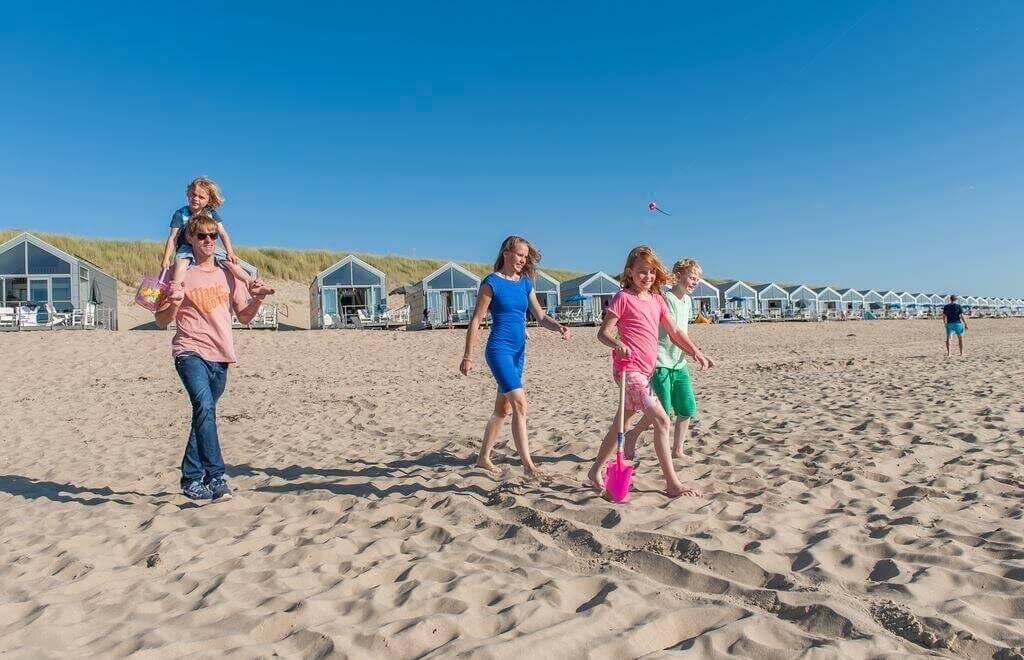 Strandhuisjes Julianadorp aan Zee Vakantiepark Noord Holland