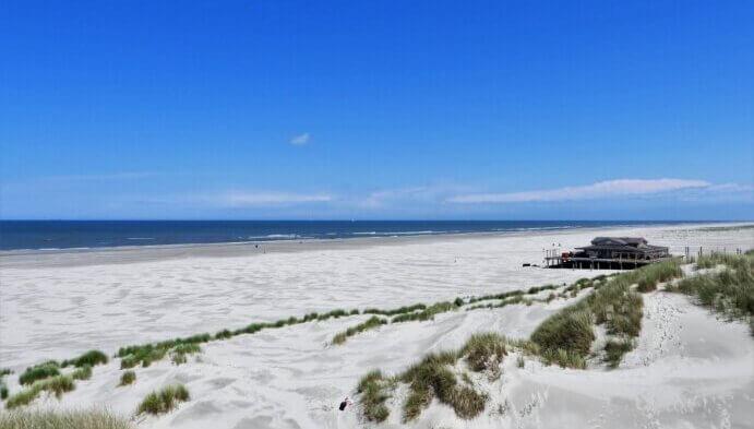 Paviljoen west aan zee Terschelling
