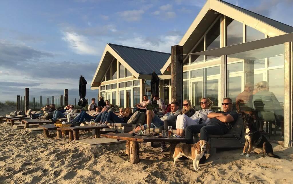 Strandtent Paal 9 Den Hoorn in Texel