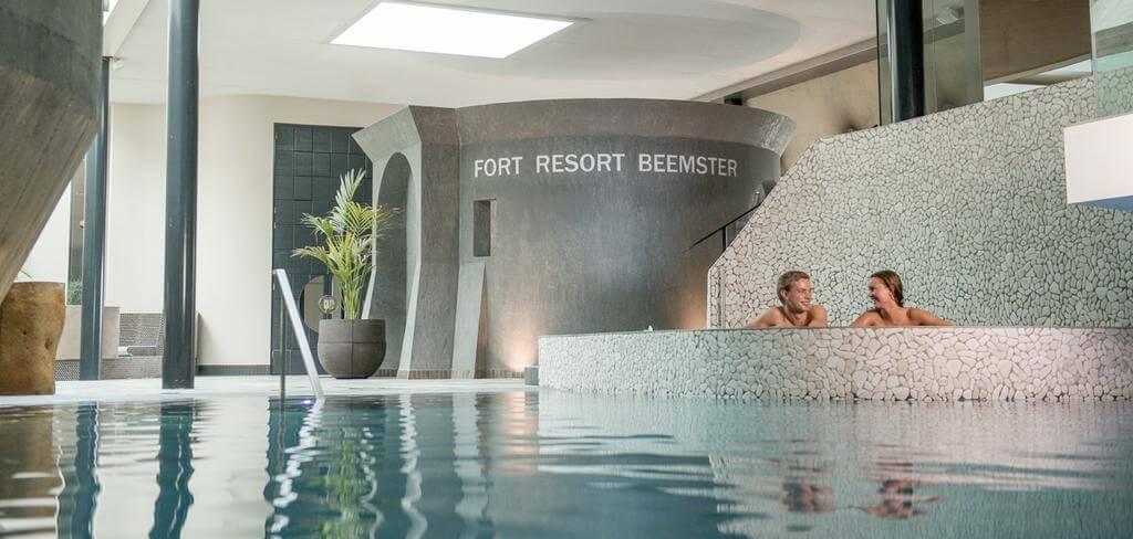 Romantisch overnachten met Wellness Fort Resort Beemster