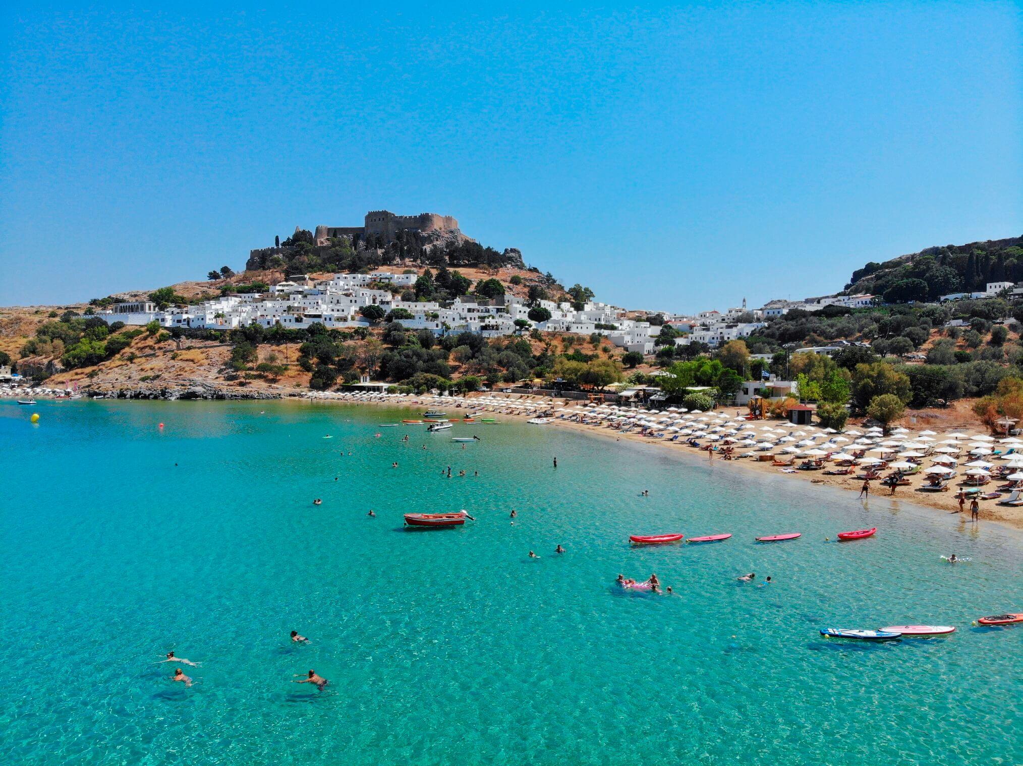 Rhodos vakantie griekse eilanden